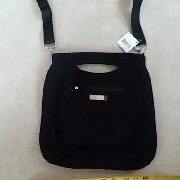 Vera Bradley Handbags - Black Vera Bradley cross body purse